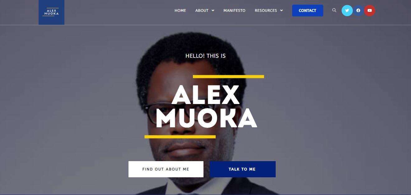 Alex Muoka Website