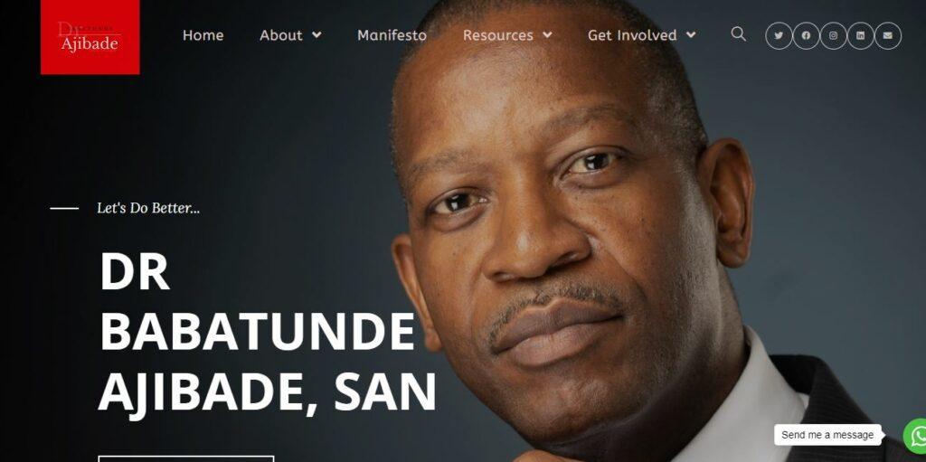 Dr. Babarunde Ajibade, SAN