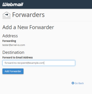Read more about the article How to Create an Email Forwarder in Webmail